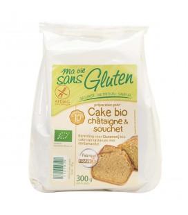 PROMO DÉCOUVERTE - Préparation pour cake bio châtaigne & souchet bio & sans gluten