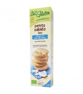 Petits sablés bio au noix de coco bio & sans gluten