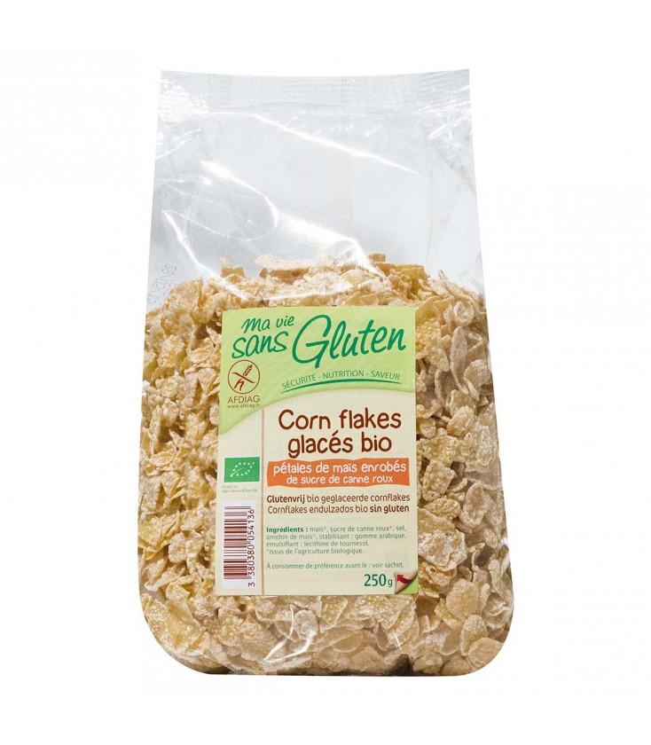 Corn flakes glacés bio & sans gluten