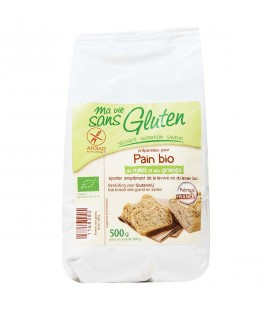 Préparation pour pain bio au millet et aux graines bio & sans gluten
