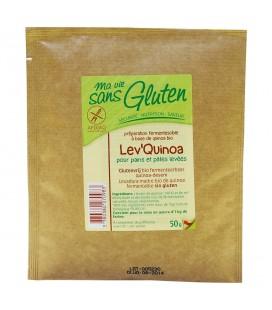 Lev' Quinoa pour pains et pâtes levées bio & sans gluten