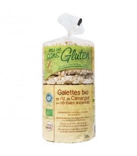 Galettes de riz de Camargue aux céréales anciennes bio & sans gluten