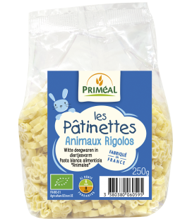 Les Pâtinettes - Petites pâtes bio rigolos pour enfant