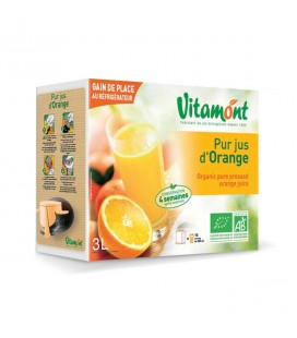 Pur jus d'orange bio en cubi