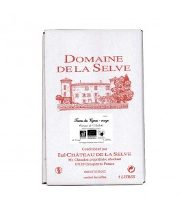 Vin Rouge bio - Terres des Vignes - Bag in Box 5L