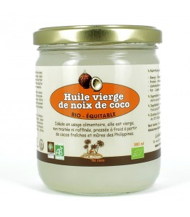 Extra Virgin Organic Raw Coconut Oil