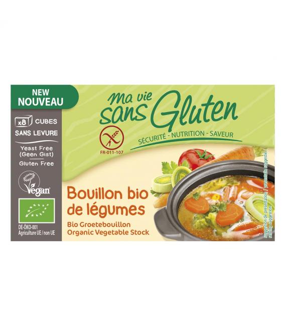 Bouillon bio de légumes
