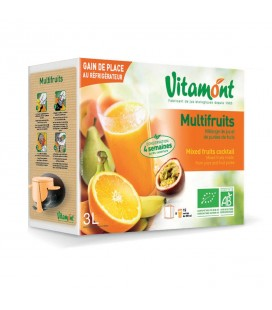 Jus Multifruits bio en cubi