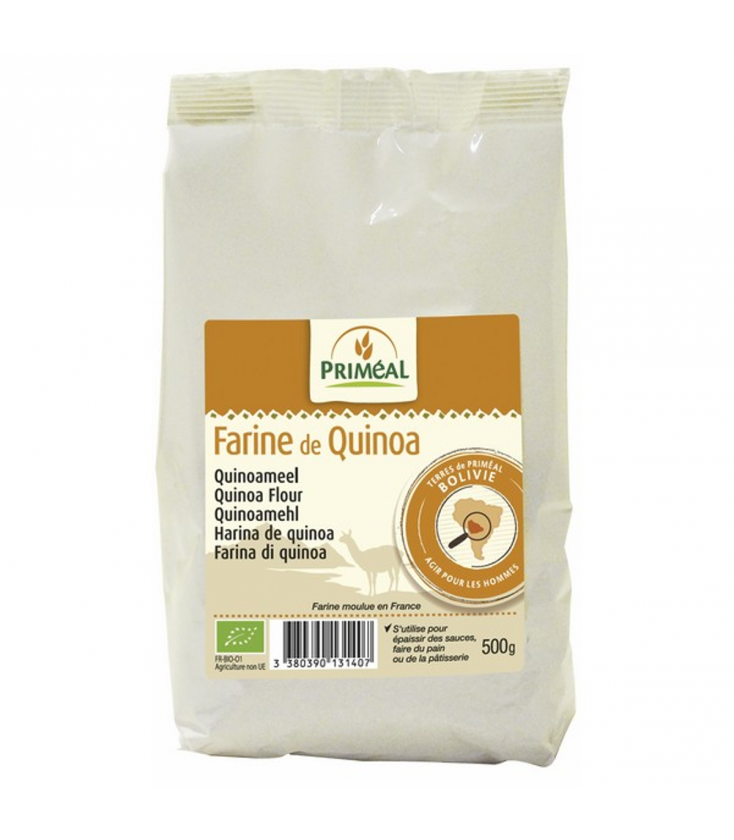 Farine précuite de quinoa bio