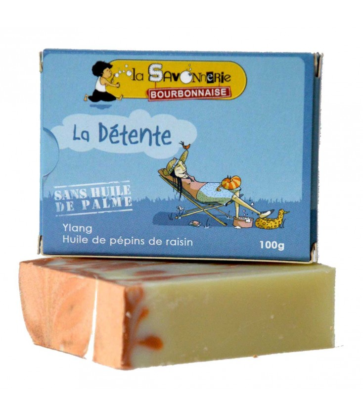 """Savon-shampoing """"Le Touareg"""" - Huile de jojoba - Nature et Progrès & Vegan"""