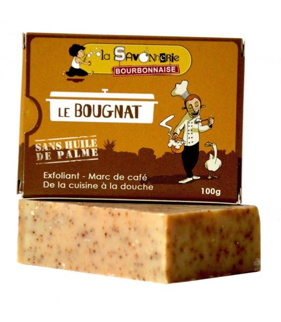 """Savon """"Le Bourbon Kid"""" - Lait de chèvre, miel, calendula - Nature et Progrès"""
