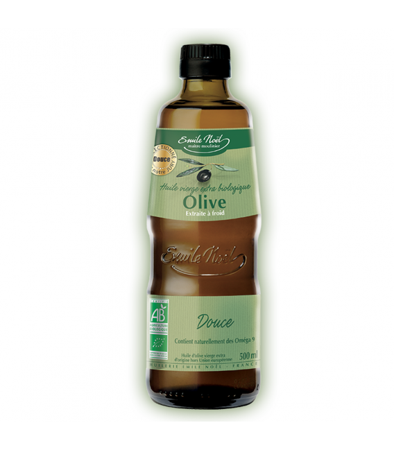 Huile d'Olive vierge extra douce bio