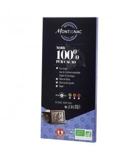 Chocolat noir 100% pur cacao bio & équitable