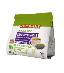 Café Dosettes du Honduras bio & équitable