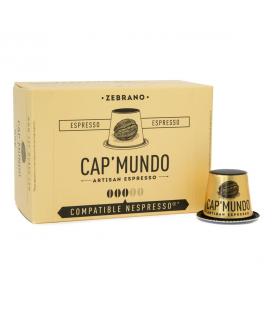 DATE PROCHE - Capsules de Café ZEBRANO (équilibré) x10