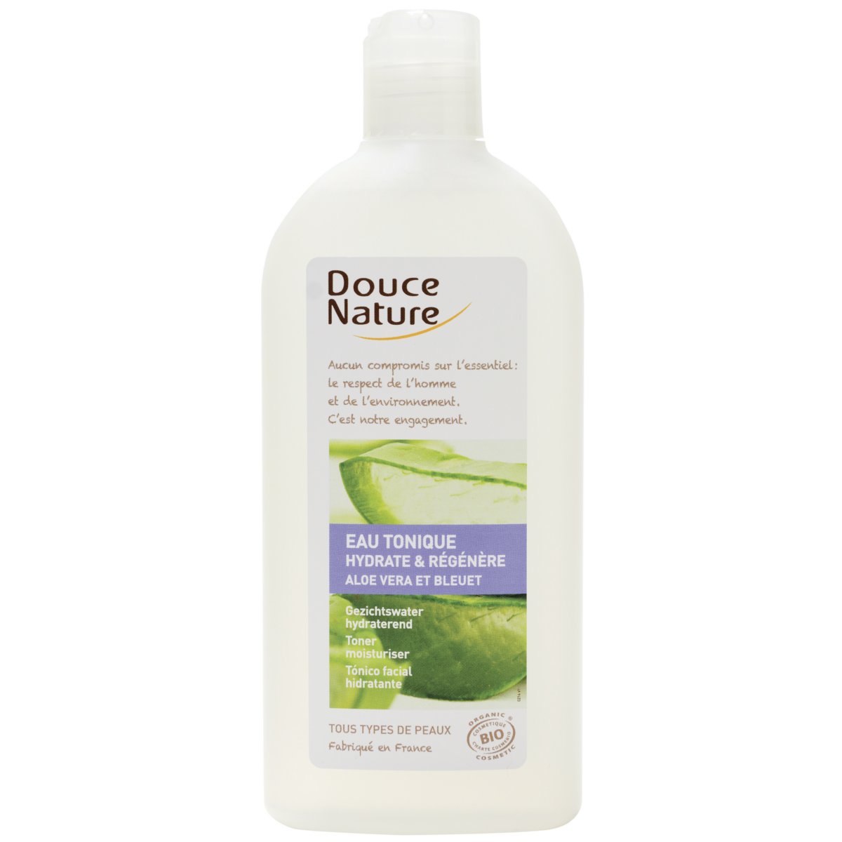 eau tonique l 39 aloe vera bio 300 ml douce nature. Black Bedroom Furniture Sets. Home Design Ideas