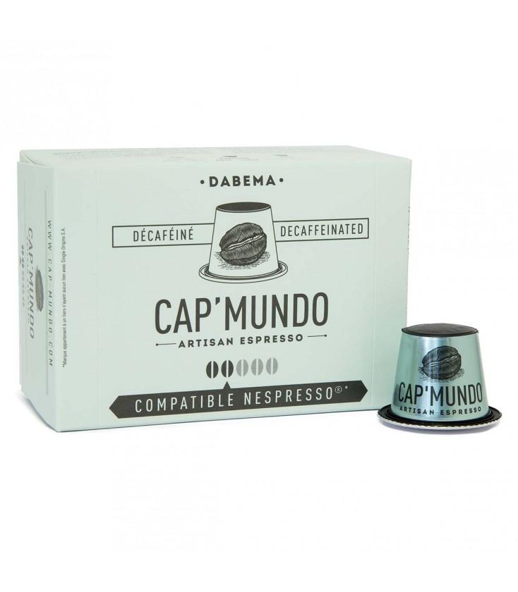 Capsules de café DABEMA (Déca) x10