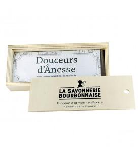 """Le coffret savons """"Douceurs d'Ânesse"""" 100% bio"""