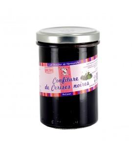 Confiture de cerises noires de Normandie