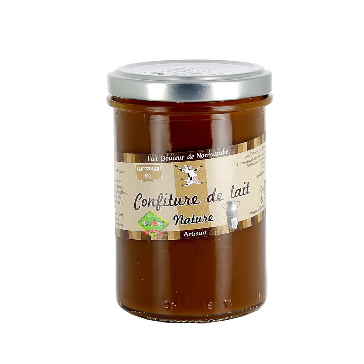 confiture de lait de normandie 250 g lait douceur. Black Bedroom Furniture Sets. Home Design Ideas