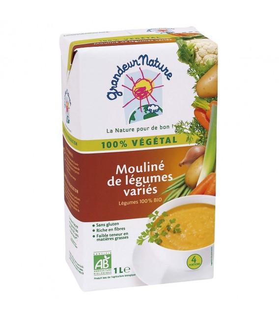 Mouliné de Légumes Variés bio & sans gluten