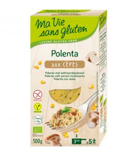 DATE PROCHE - Polenta aux cèpes bio & sans gluten