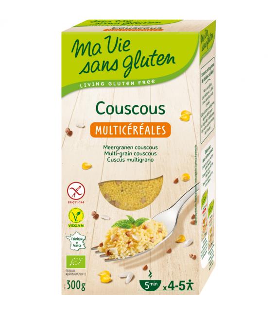 Couscous multicéréales bio & sans gluten