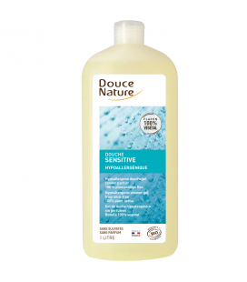 Douche sensitive hypoallergénique bio