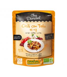 Chili con tofu & riz bio