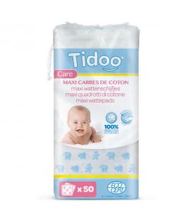 Maxi Carrés bébés en coton bio