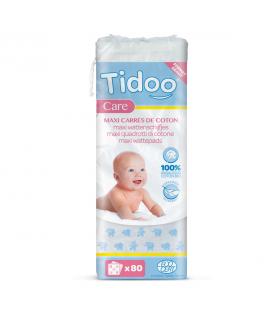 Maxi carrés bébés en coton (x50) bio