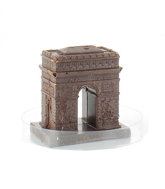 Arc de Triomphe en chocolat noir bio