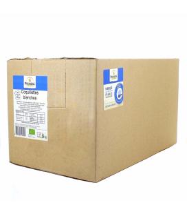 RHD - Coquillettes blanches 100% France bio 5 kg