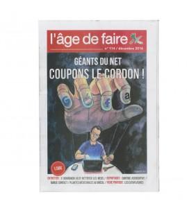"""Lot de journaux """"l'Age de Faire"""" N°114 à 116"""