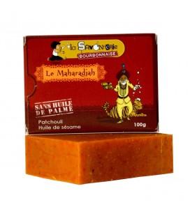"PROMO - Savon ""Le Maharadjah"" au patchouli & huile de sésame 100% bio"
