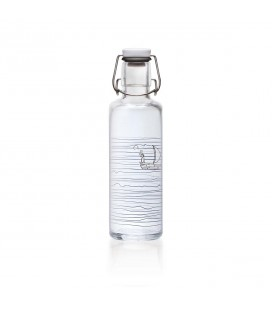 Bouteille en verre refermable 600 ml