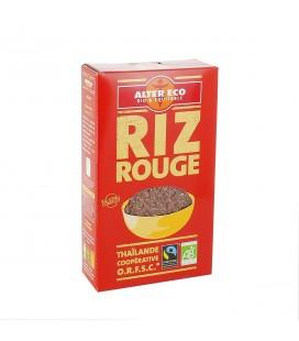 Riz Rouge (variété Khao Daeng) riz long complet bio et équitable