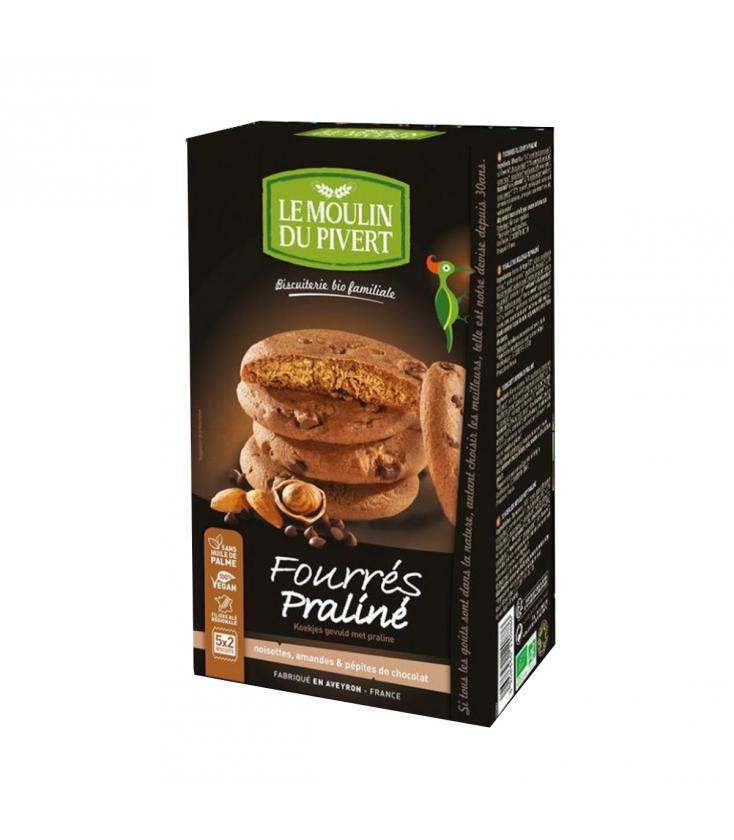 Biscuits Fourrés au praliné bio & équitable