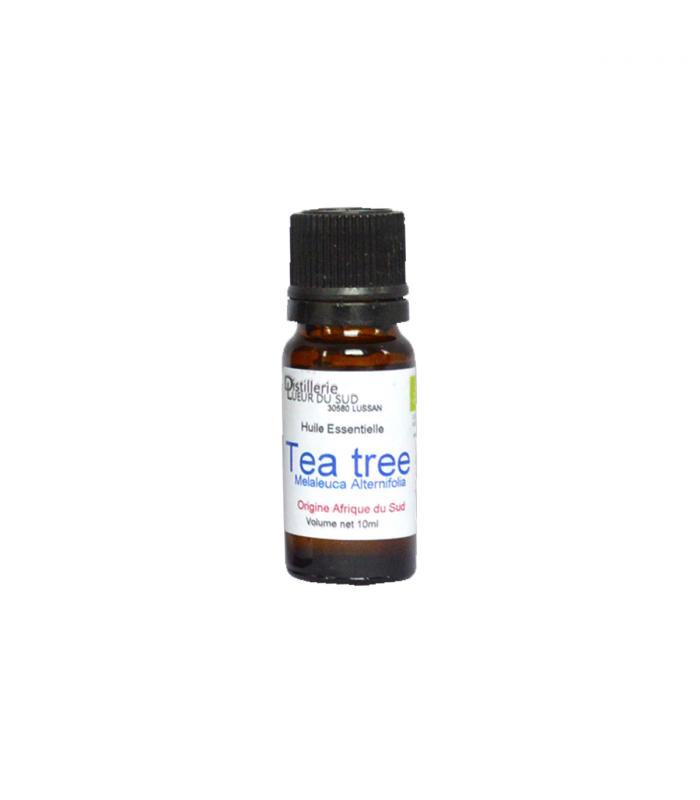 Huile essentielle de tea tree bio 10 ml lueur du sud - Huile essentielle tee tree ...