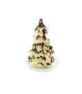 Sapin de Noël en chocolat blanc bio
