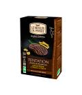 Biscuits Tentation au chocolat noir, gingembre et citron confit bio & équitable