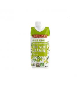 Infusion glacée thé vert jasmin bio & équitable