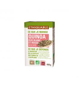 DATE DÉPASSÉE - Duo de quinoa blanc & rouge bio & équitable