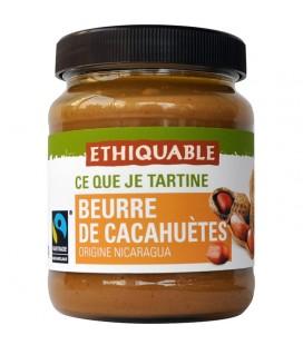 Beurre de cacahuètes équitable