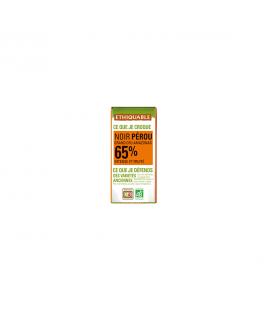DATE DÉPASSÉE - Mini tablette chocolat noir 65% bio & équitable