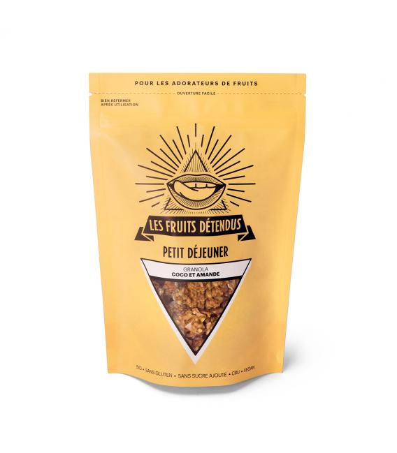Granola coco - amande bio, cru & vegan