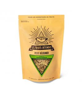 Granola cacao - pistache bio, cru & vegan