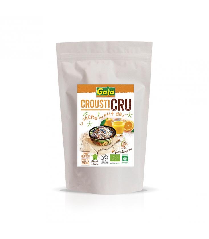 Farine de fonio demi complet sans gluten, équitable & bio