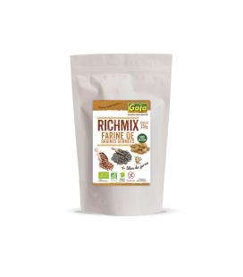 Farine de graines germées Richmix sans gluten, cru & bio