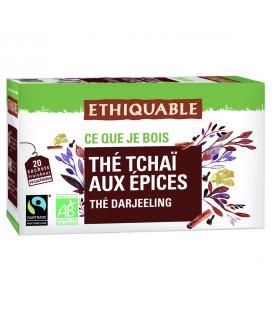 Thé tchaï aux épices bio & équitable
